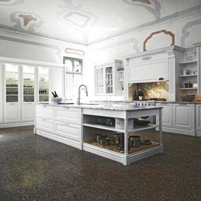 Элитная белая кухня