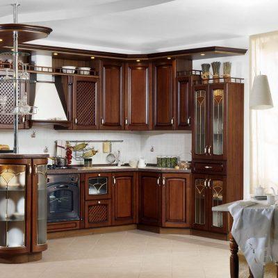 Дизайн кухонной барной стойки