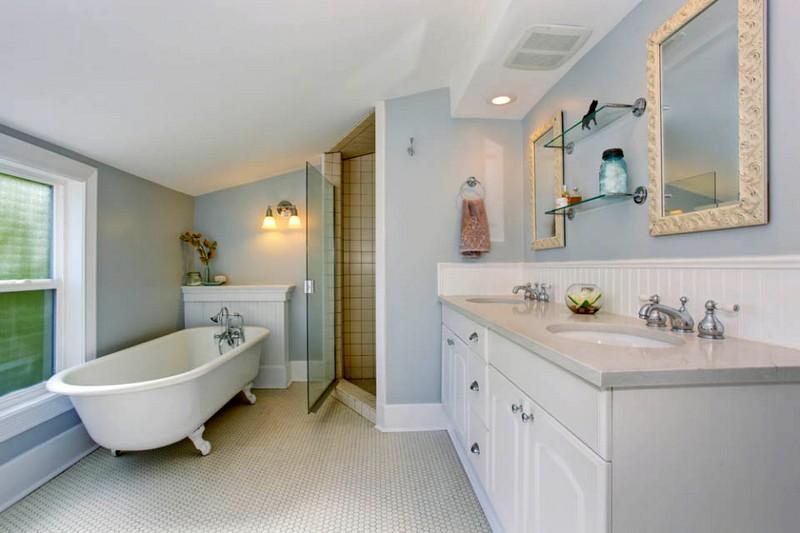 дизайн ванной комнаты в американском стиле