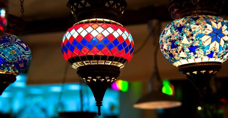 Индийские светильники