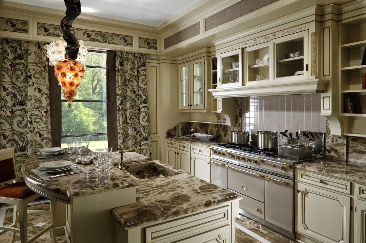 Воплотить итатьянский стиль можно даже на небольшой кухне