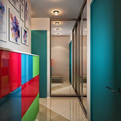 Яркий коридор
