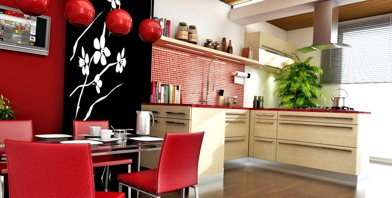 китайский стиль в кухонном интерьере
