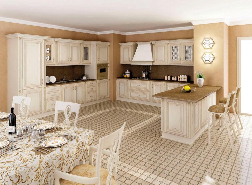 Кухня в классическом стиле: всегда на пике моды