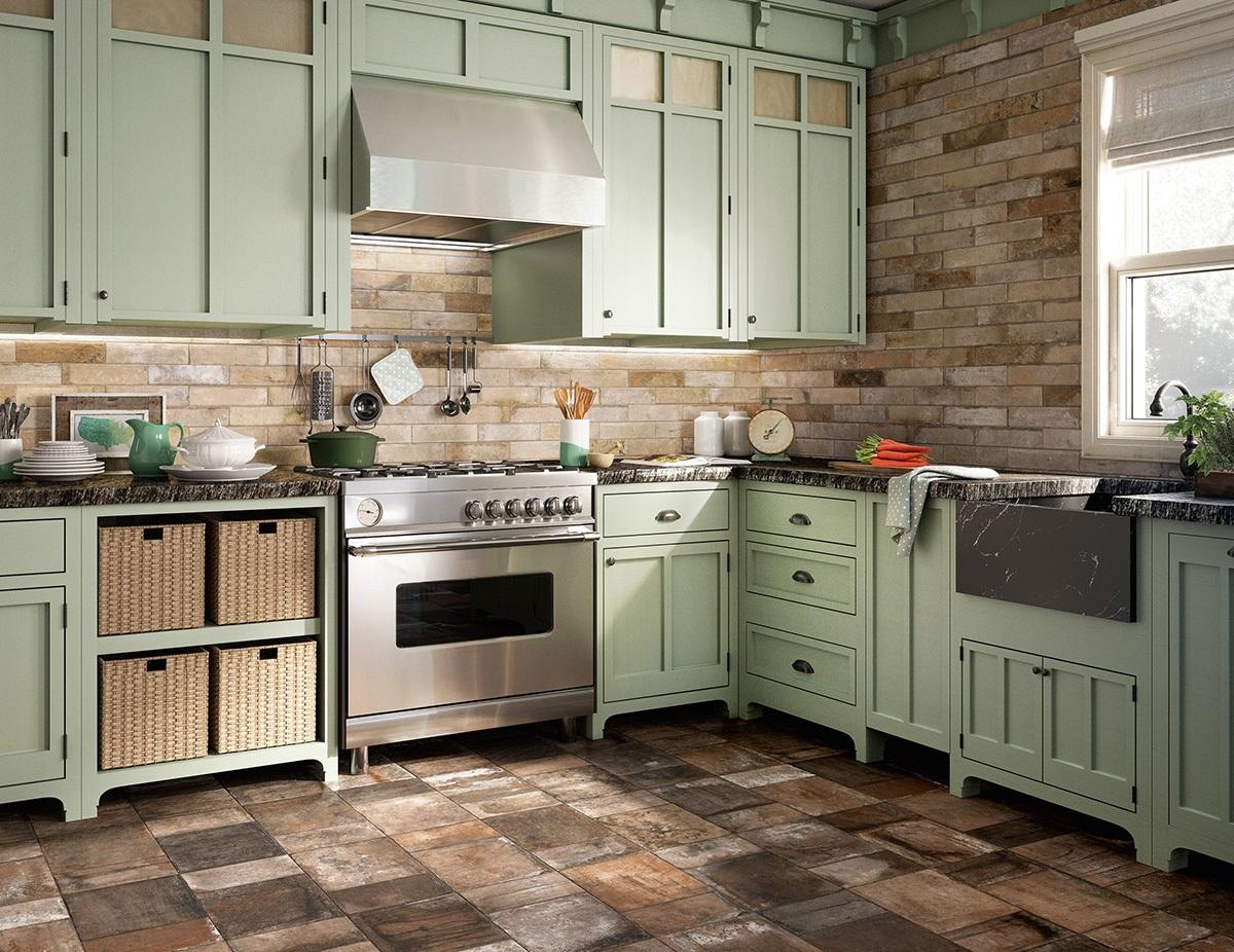 Современные мебельные компании создают красивую и функциональную мебель для кухни в стиле ретро
