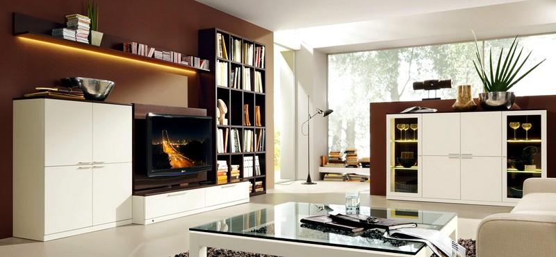 мебель в стиле модерн для гостиной