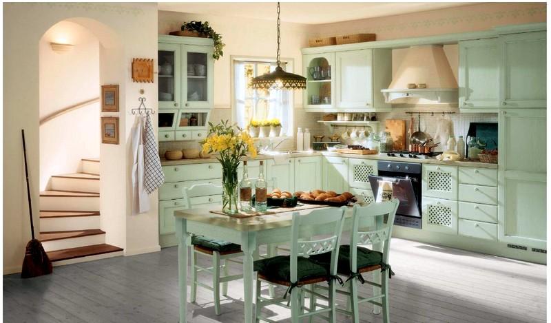 Оформление кухни во французском стиле