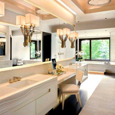 Роскошная ванная в американском стиле