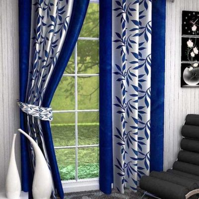 Синяя штора