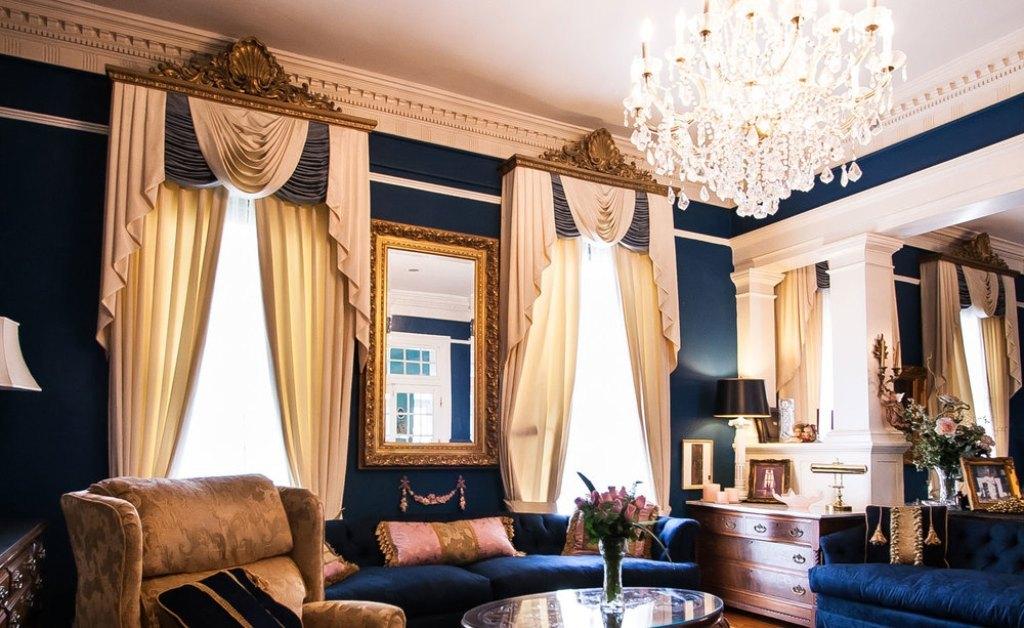 Богатые шторы
