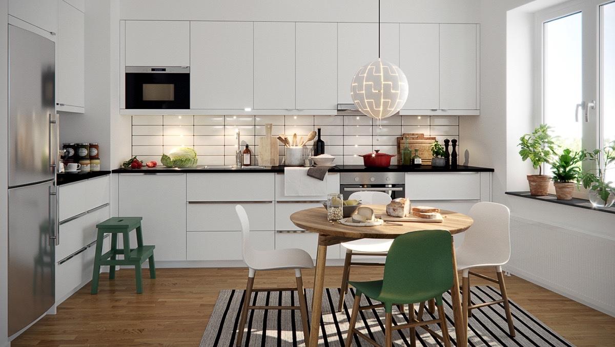 Скандинавскому стилю своственна строгость, простота и функциональность