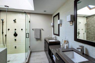 ванная комната в классическом американском стиле