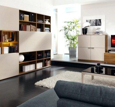вариант дизайна для гостиной в стиле модерн