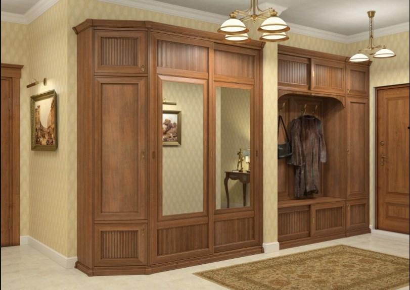 Мебель для прихожей в классическом стиле: характерные черты .