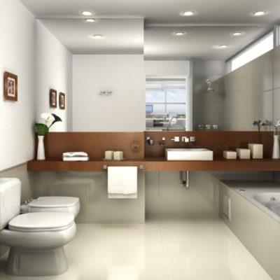 Дизайн ванной комнаты на фото примере