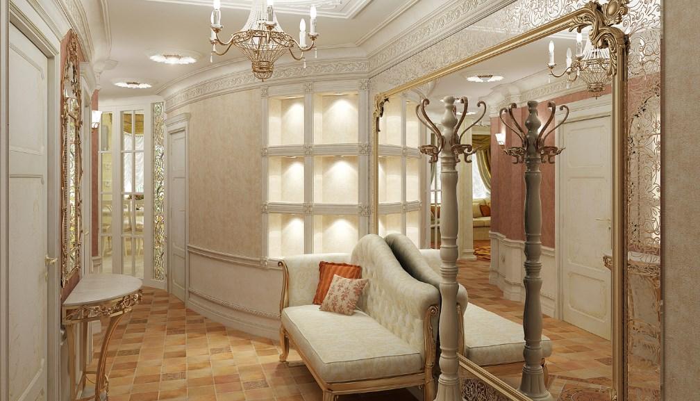 Как подобрать красивую и практичную мебель для прихожей в классическом стиле