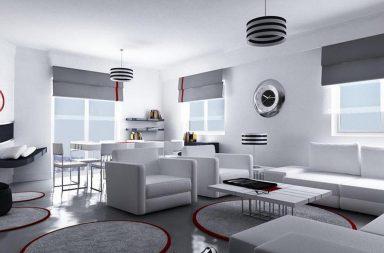 Пример обустройства гостиной комнаты
