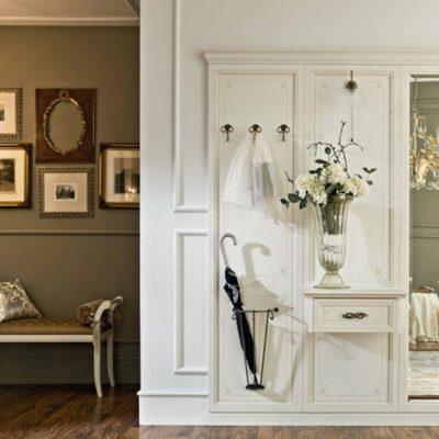 Белая классика шкафа