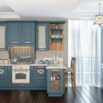 Интерьер кухни на фото неоклассика