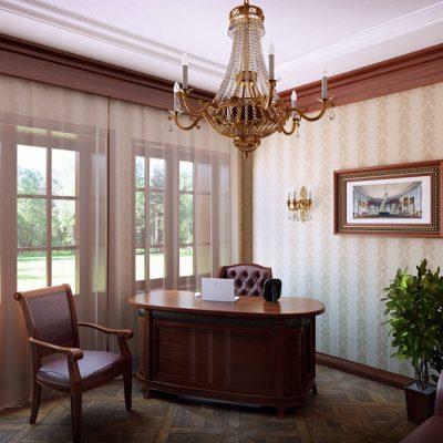 Окна в кабинете