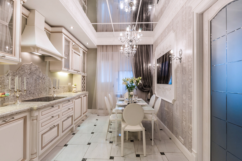 Интерьер классической кухни фото 12 кв метров фото в современном стиле