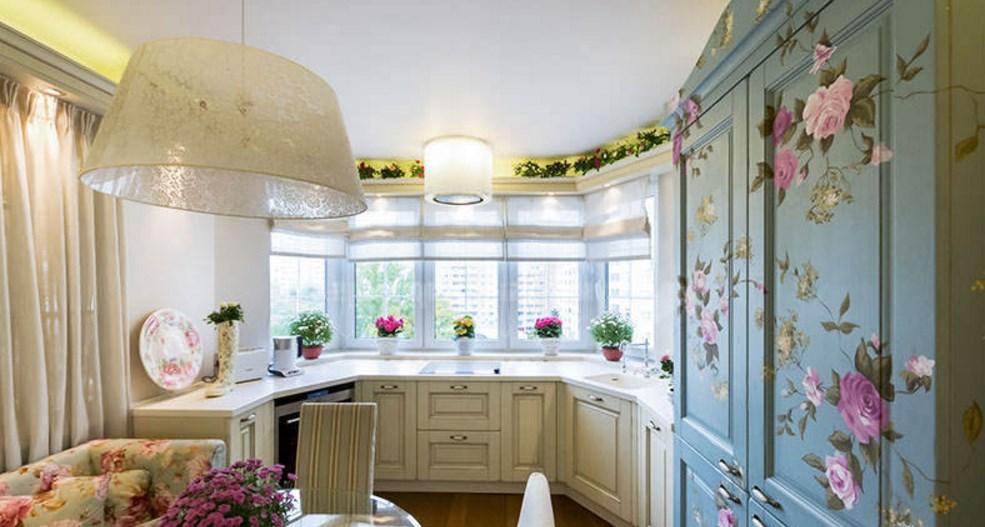 Интерьер кухни в эркере дизайн кухни - фото, описание, совет.
