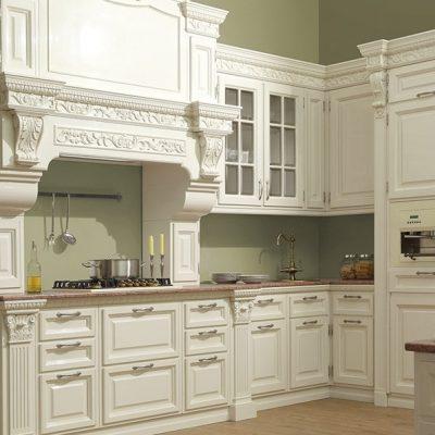 Пример кухни белой