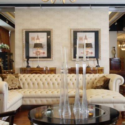 Изящная гостиная современного стиля на фото