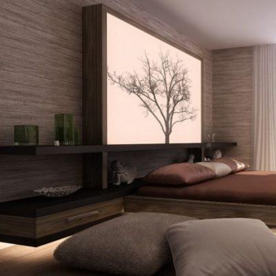 Японская классика спальни