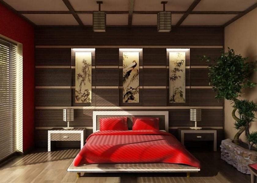 Красная постель