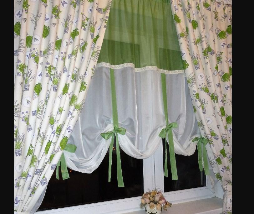 Несложные шторы