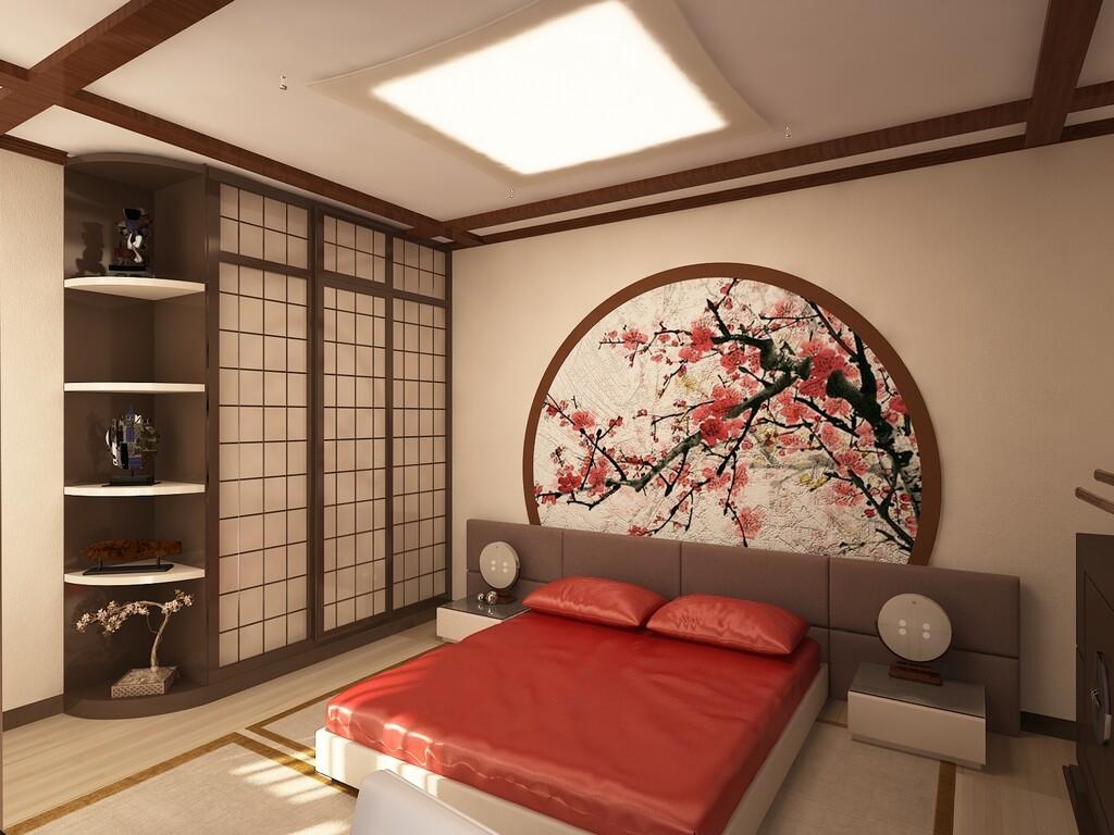 Спальная комната на фото