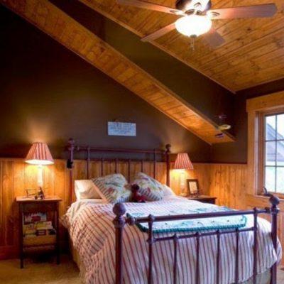 Пример спальни в оформлении