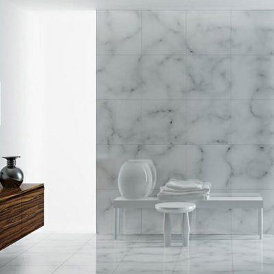 Минимализм в ванной комнате на примере фото