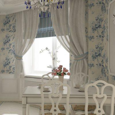 Светлые шторы