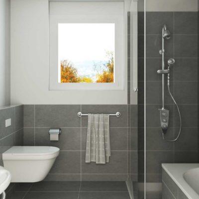 Маленькое окно в ванной