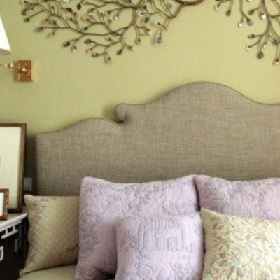 Подушки как элемент декора кровати
