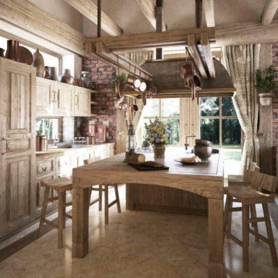 правила выбора штор на кухню