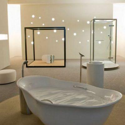 Стильная ванная комната стиля минимализм
