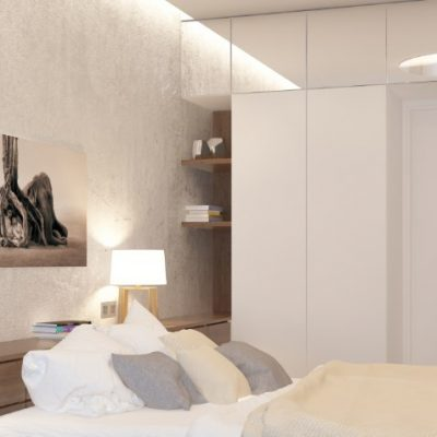 Светильник у кровати