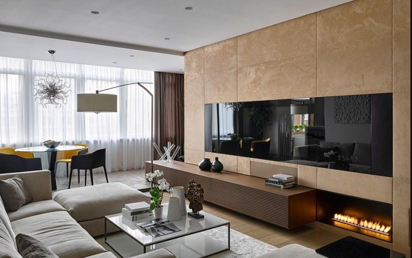 Мебель для гостиной в духе неоклассики