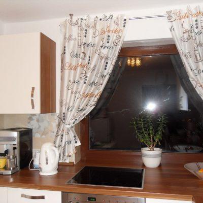 правила выбора штор на кухню кантри стиля