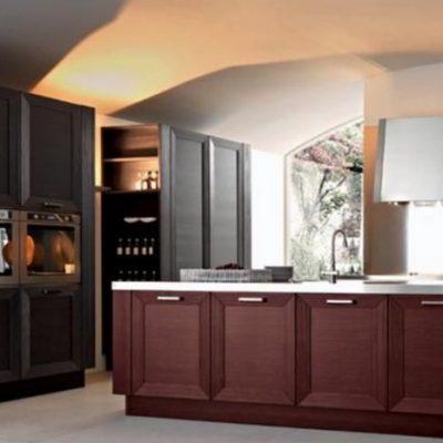 Сочетание стильное кухни