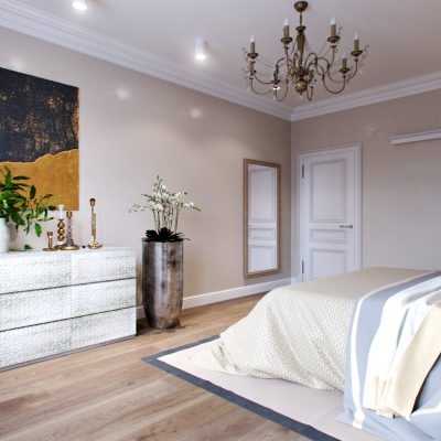 Интерьер примера спальни