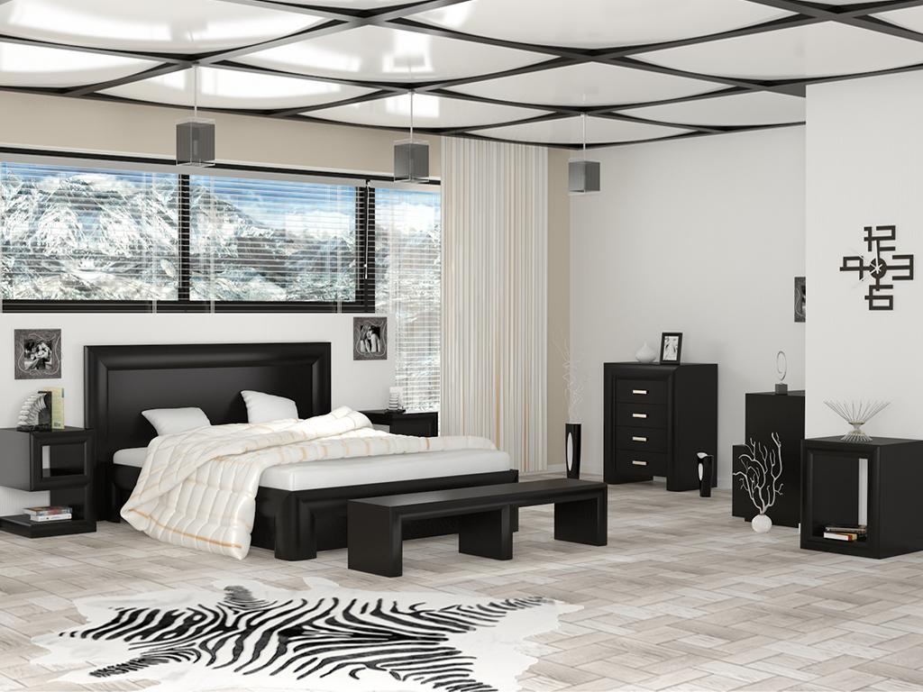 75Японский стиль мебели в спальной комнате на фото примере