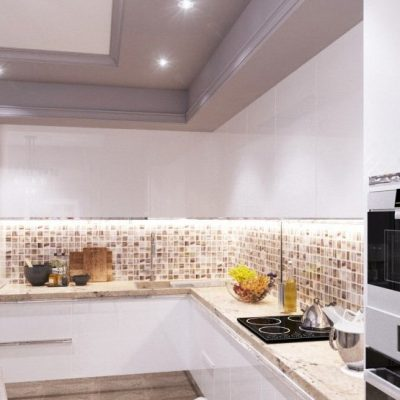 Интерьер кухни неоклассики стиля на фото
