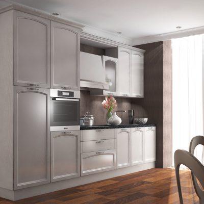 Интерьер кухни неоклассики стиля
