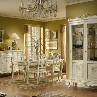 Кухня барокко стиля классика