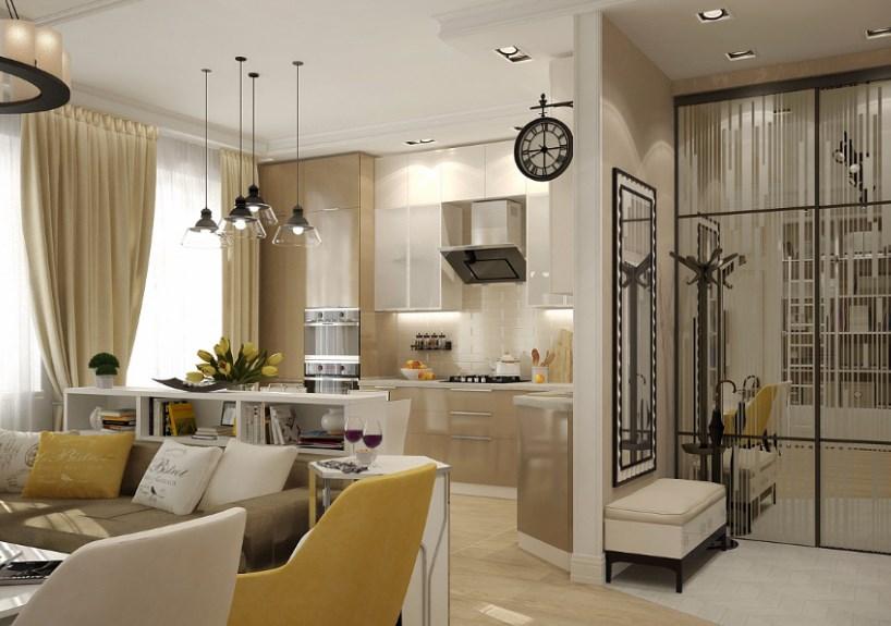 Дизайн кухня современная классика дизайн