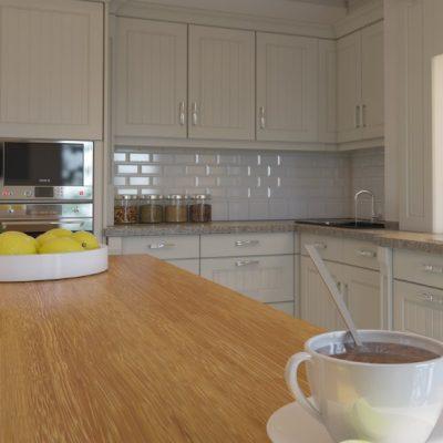 Стильная кухня неоклассика на фото